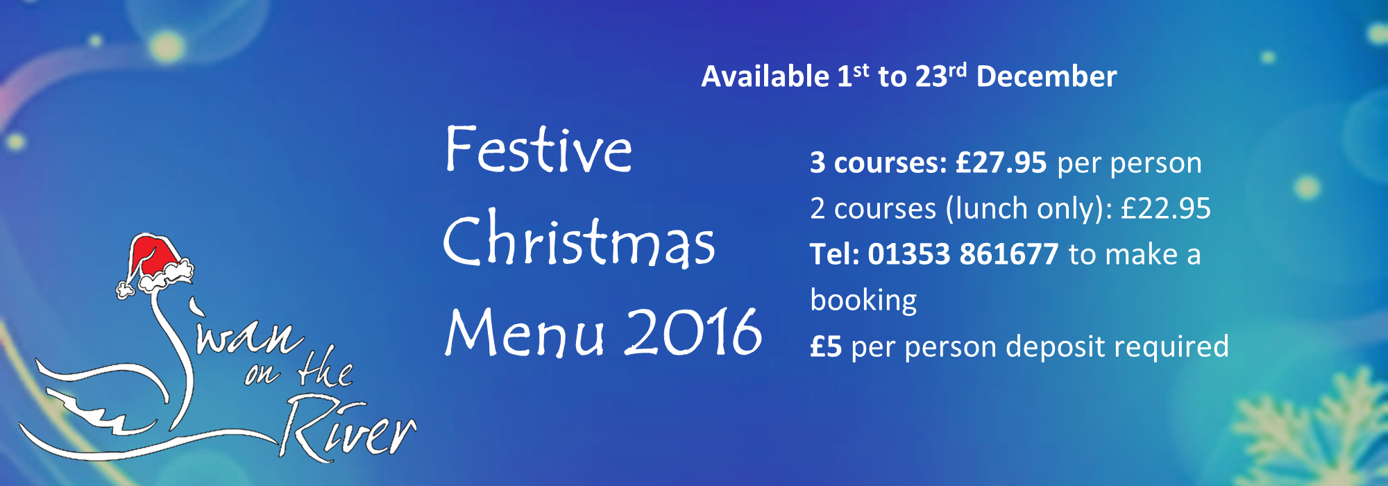 Festive Feasting at the Swan